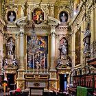 Jesuit's Church, Valletta Malta--The Oratory by Edwin  Catania