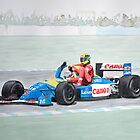 Mansell and Senna by Cameron Porter