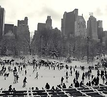 Ice Rink Central Park by westendted