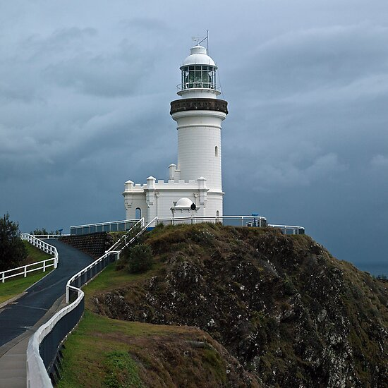 Cape Byron Lighthouse by Odille Esmonde-Morgan