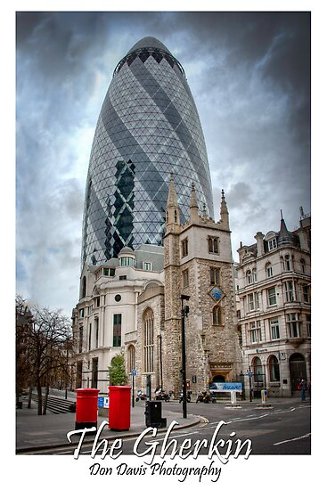The Gherkin: London, UK. by DonDavisUK