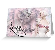 Love Is ........  Greeting Card