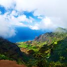 Kalalau Valley Vista by Benjamin Padgett