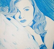 Monochromatic Starlet - Veronica Lake by vswart