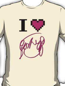 I Heart Flowers (White) T-Shirt