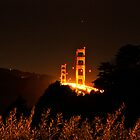 Golden Gate Night by Sam Maule