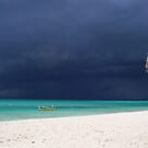 Approaching Storm - Caribbean Sea by Mellisa Wagner