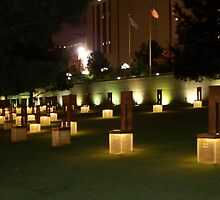 Memorial to the victims of the OKC Bombing by dmorrow