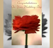 Congratulations On Your Wedding Day - Card by Joy Watson
