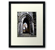 Thru the Arches Framed Print