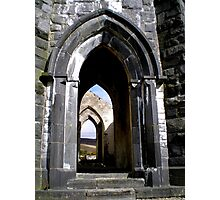 Thru the Arches Photographic Print