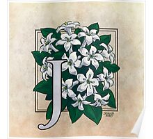J is for Jasmine Poster