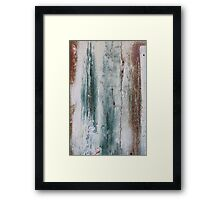 Painted Door  - JUSTART © Framed Print
