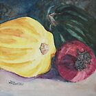 Red Onion with Squash by JennyArmitage