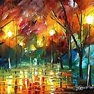 BREEZE OF FEELINGS - Original Art Oil Painting By Leonid Afremov by Leonid  Afremov