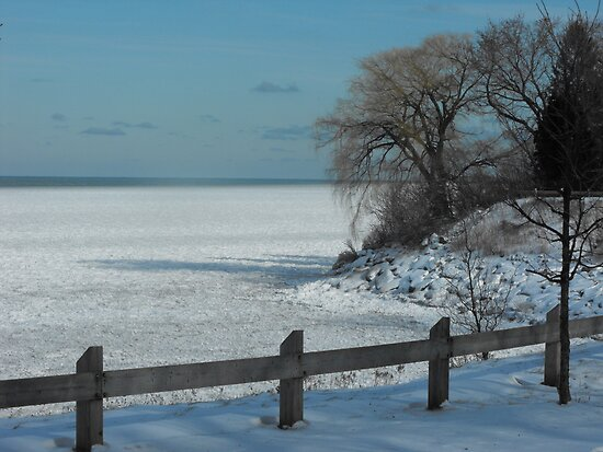 Winter on Lake Ontario by ArianaMurphy