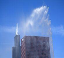 Chicago - Buckingham Fountain by Frank Romeo