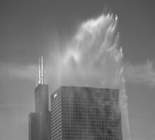Chicago - Buckingham Fountain by Frank Romeo