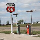 Route 66 - Adrian, Texas by Frank Romeo