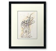 Charming Monstrositie Framed Print
