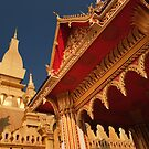 Pha That Luang Pagoda - Vientiane, Laos by Alex Zuccarelli