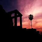 Angkor Sunset - Angkor Wat, Cambodia by Alex Zuccarelli