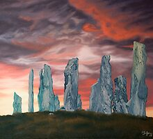 Callanish stones by Pam Buffery