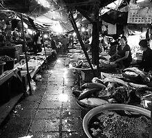 Talat Khua Din Marketplace - Vientiane, Laos by Alex Zuccarelli