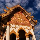 Wat Nanthakham - Tha Khaek, Laos by Alex Zuccarelli