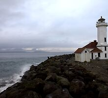 Port Townsend Lighthouse by Shannon Matteson