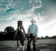 Modern Day Cowboy by Stephen Olner