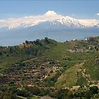 View to Etna North side by Janone