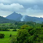 The Slumbering Caldera of Mt Warning by Keith Richardson