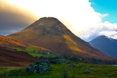 High Fell above Wast Water. by Trevor Kersley