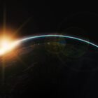 Sunrise in deep-space by VirtualArtist