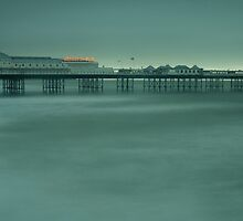 Storm over Palace Pier, Brighton by Rick  Senley