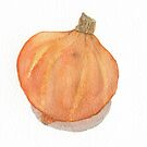 Watercolour squash by Sue Brown