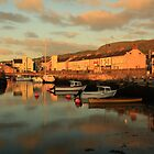 Carnlough Harbour, N. Ireland.  by Fred Taylor