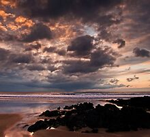 Incoming evening tide by Lorraine Parramore