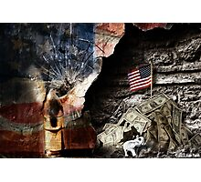 Patriotism: To Die For Or For Profit? Photographic Print