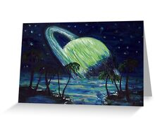 The Green Planet Greeting Card