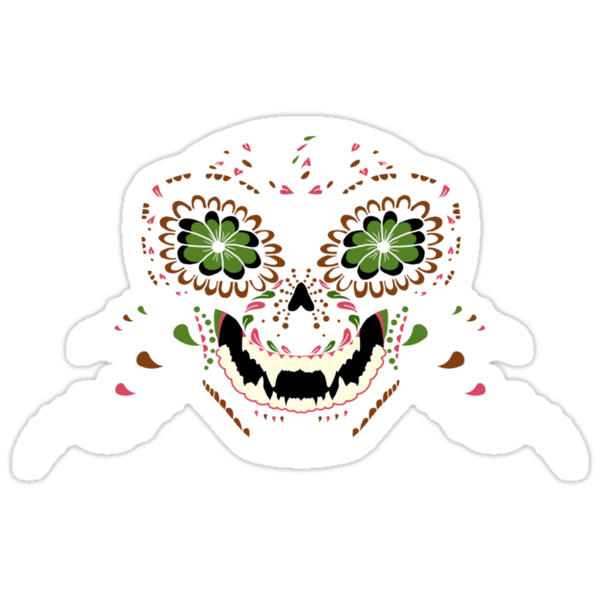 Monkey Sugar Skull by Neoran