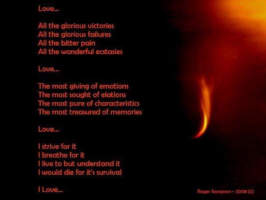 Love...All You Need by Roger Sampson