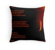 Love...All You Need Throw Pillow