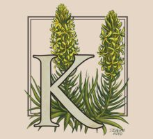 K is for King's Spear - full image shirt by Stephanie Smith