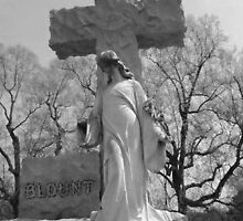Blount Monument in Rose Hill Cemetery, Macon, GA by Sanguine