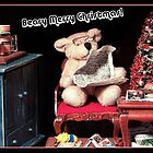Beary Merry Christmas! by Nadya Johnson