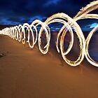 Running with Fire I by Alexander Kesselaar