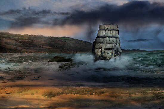 High Seas.  by Irene  Burdell