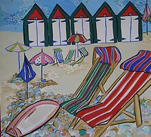 Beer , beach chairs by MegHayley
